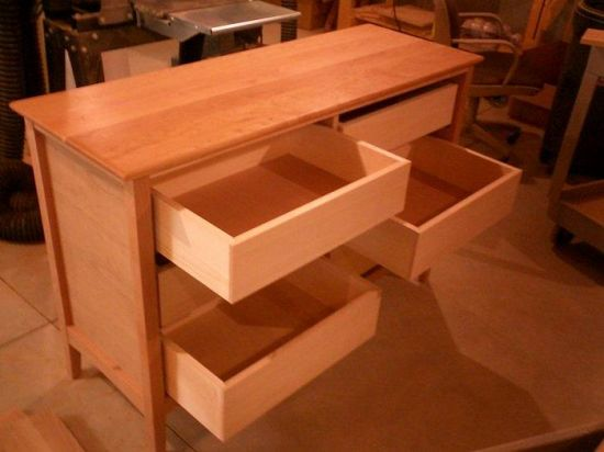 Winter project a dresser for marcie mike o 39 connor - Making wood drawers ...