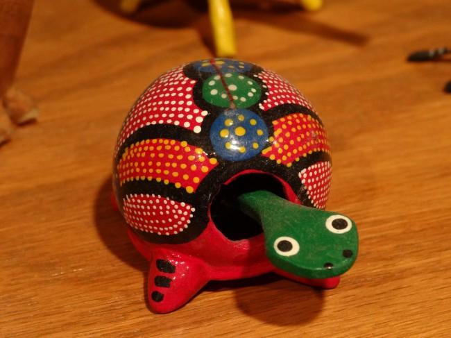 Granny Pat's turtle