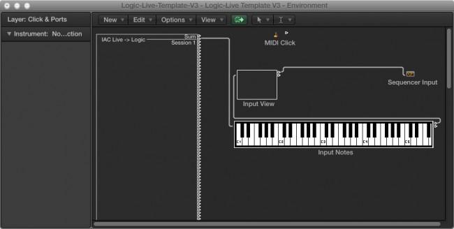 Logic-Environment-IAC-MIDI